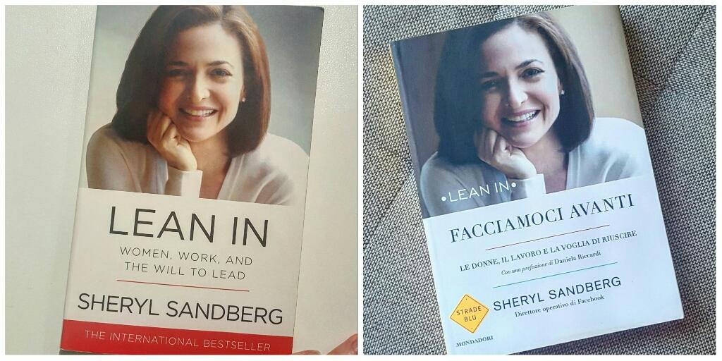 Due copie del libro in questione. Dopo aver regalato la mia prima versione in italiano ad un'amica, ho deciso di ricomprarlo e rileggerlo in inglese :)