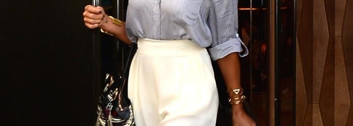 segno pantaloni bianchi